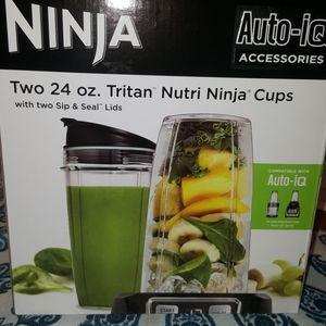 Ninja 24 oz cups